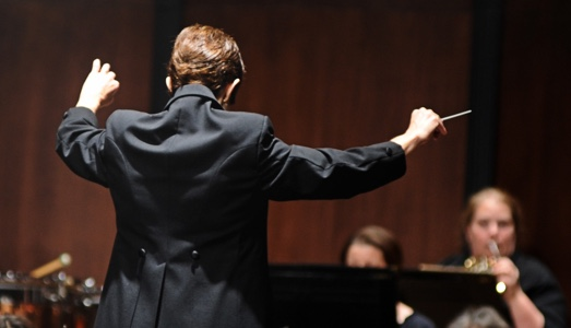 Image of a conductor